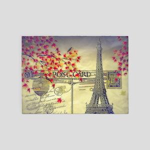 Autumn in Paris 5'x7'Area Rug