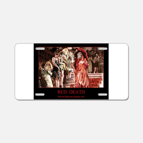 Phantom of the opera Aluminum License Plate