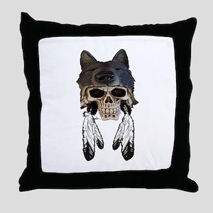 WARRIOR SOUL Throw Pillow