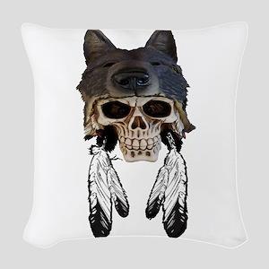 WARRIOR SOUL Woven Throw Pillow