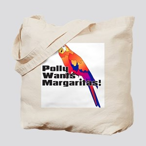 Margarita Parrot Tote Bag