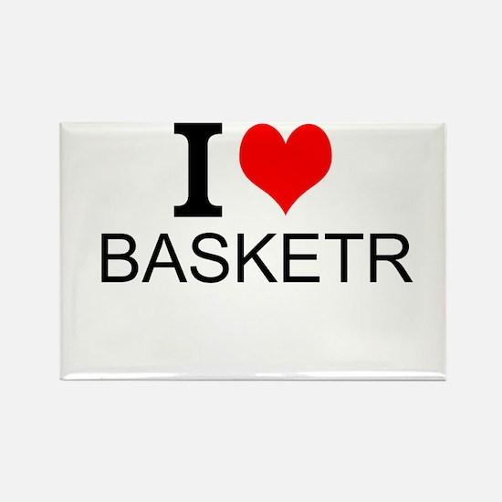 I Love Basketry Magnets