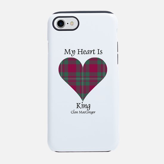 Heart-King.MacGregor iPhone 8/7 Tough Case