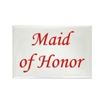 Maid of honor Rectangle Magnet (100 pack)