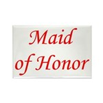Maid of honor Rectangle Magnet (10 pack)