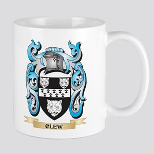 Clew Coat of Arms - Family Crest Mugs
