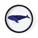 Bowhead Whale Wall Clock