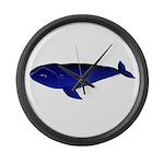 Bowhead Whale Large Wall Clock