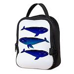 Bowhead Whale Neoprene Lunch Bag