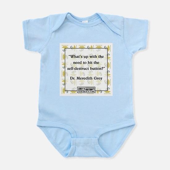 SELF-DESTRUCT Infant Bodysuit