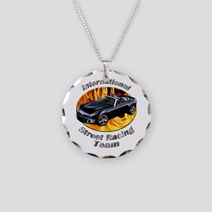 Saturn Sky Necklace Circle Charm