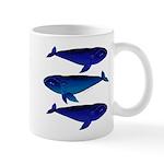 3 Bowhead Whales Mugs