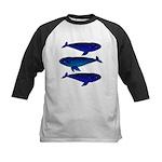 3 Bowhead Whales Baseball Jersey