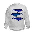 3 Bowhead Whales Sweatshirt