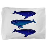 3 Bowhead Whales Pillow Sham