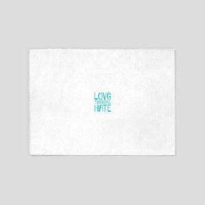 Love 5'x7'Area Rug