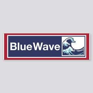Blue Wave 2018 Bumper Sticker