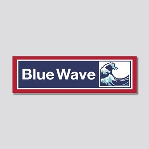 Blue Wave 2018 Car Magnet 10 X 3