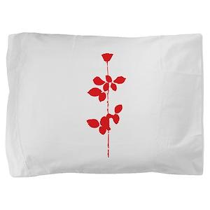 Depeche Mode Rose Pillow Sham