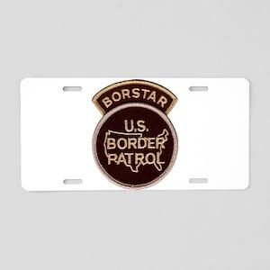 borstar Aluminum License Plate