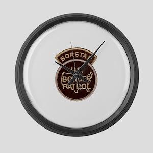 borstar Large Wall Clock