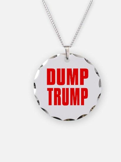 DUMP TRUMP Necklace