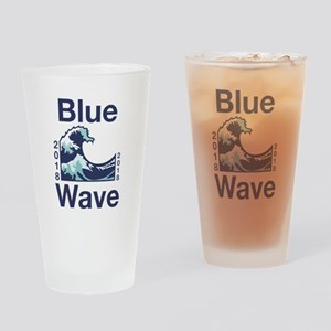 Blue Wave 2018 Drinking Glass