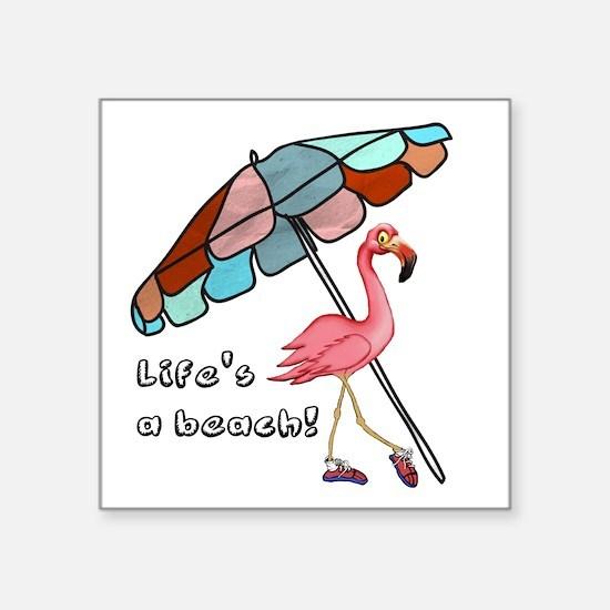 Cute Flamingo Sticker