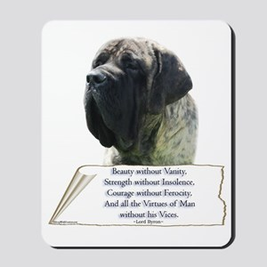 Brindle Tribute Mousepad