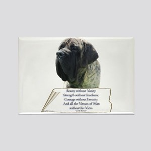 Brindle Tribute Rectangle Magnet