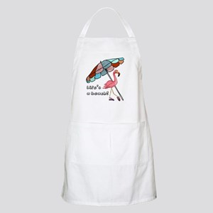 Cute Flamingo Apron