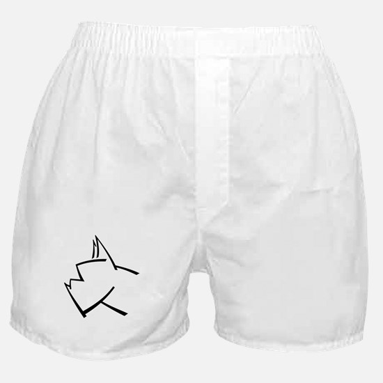 American Boxer Dog Logo Boxer Shorts - GET IT?!!