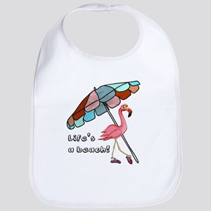 Cute Flamingo Bib