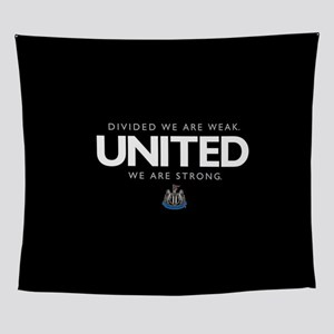 Newcastle United We Are Strong Wall Tapestry