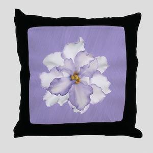 Opulent Orchid Throw Pillow