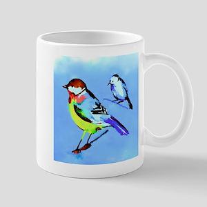 Birds On Limbs Mugs