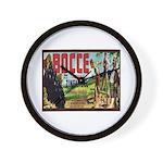 Bocce Wall Clock