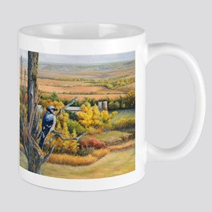 SRose Autumn Blues Mugs