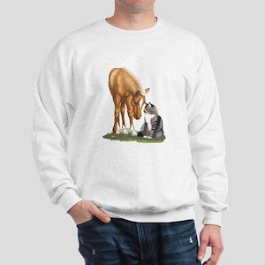 Mini Horse and Cat Sweatshirt