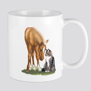 Mini Horse and Cat Mug