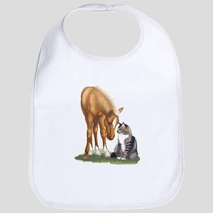 Mini Horse and Cat Bib