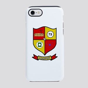 Sheldon Cooper Coat of Arms iPhone 8/7 Tough Case