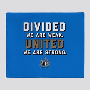 NUFC United Strong Throw Blanket