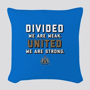 NUFC United Strong Woven Throw Pillow