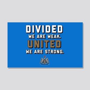 NUFC United Strong 20x12 Wall Decal