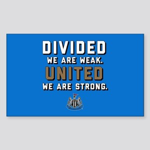 NUFC United Strong Sticker (Rectangle)