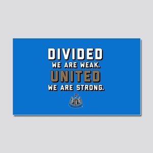 NUFC United Strong Car Magnet 20 x 12