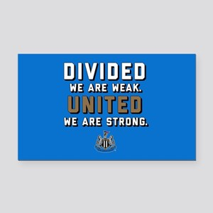 NUFC United Strong Rectangle Car Magnet