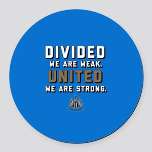 NUFC United Strong Round Car Magnet