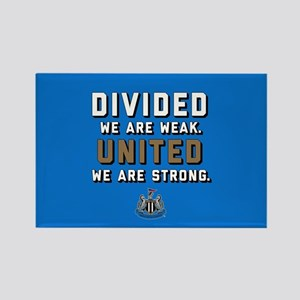 NUFC United Strong Rectangle Magnet